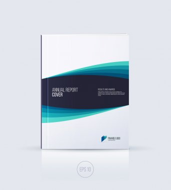 Cover design, brochure template layout, annual report, magazine