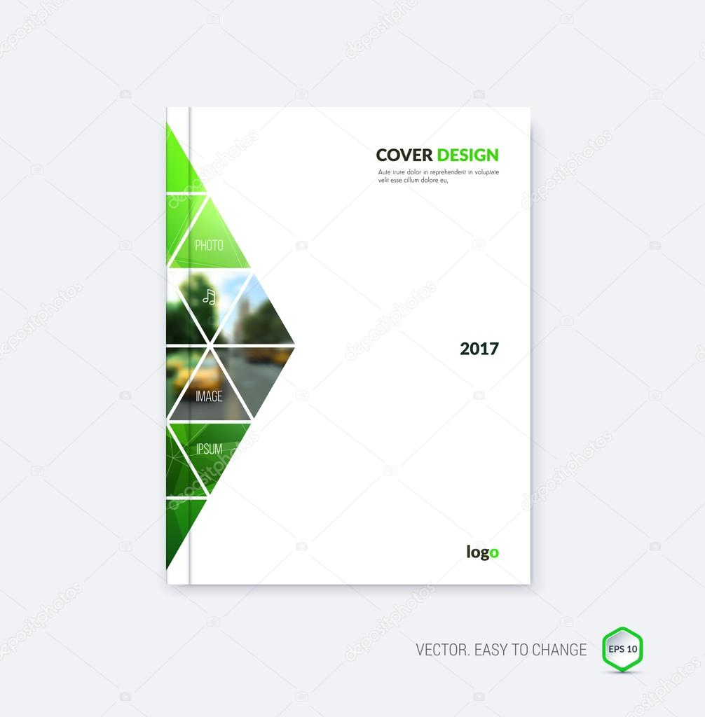 abstract cover design business brochure template layout report