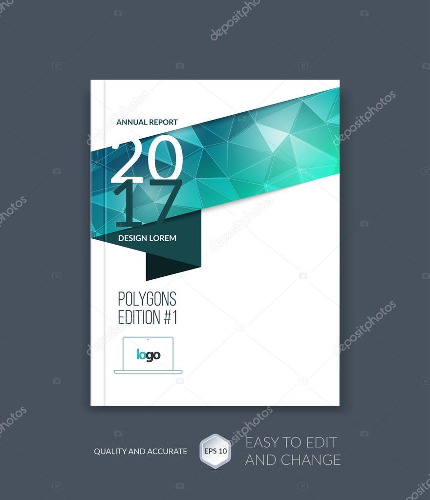 Diseño de plantilla de folleto, informe anual del diseño de la ...