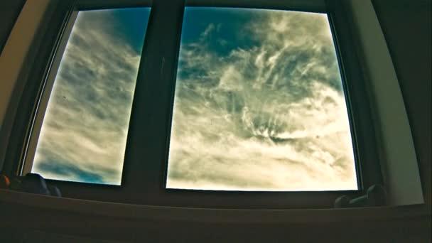 Sky zobrazení v okně (časová prodleva)