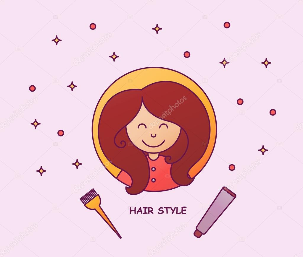 Haare Farben Ein Junges Madchen Mit Einer Volumen Frisur Beauty