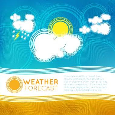 weather forecast symbols