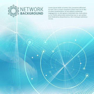 Futuristic Network Science texture