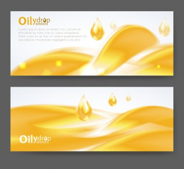 Yellow Oily drop icon