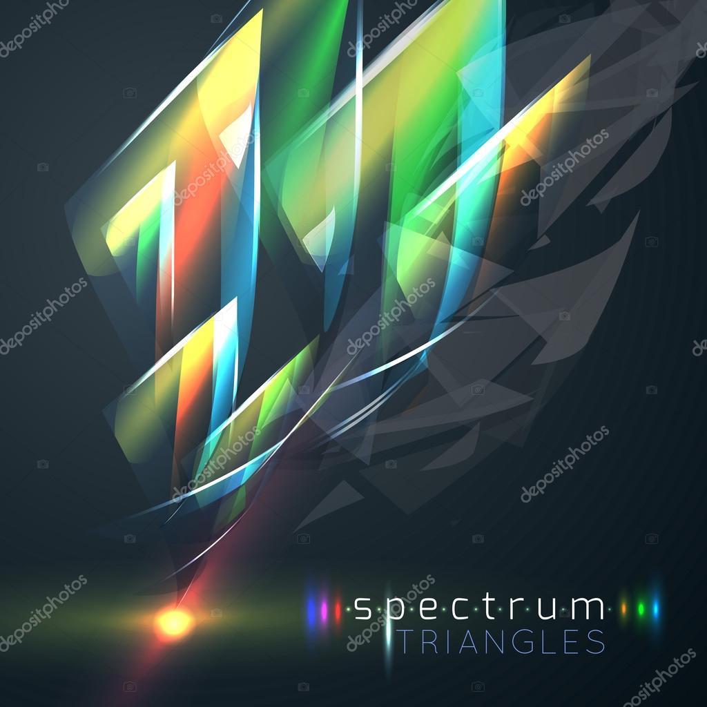 Colorful Spectrum triangles
