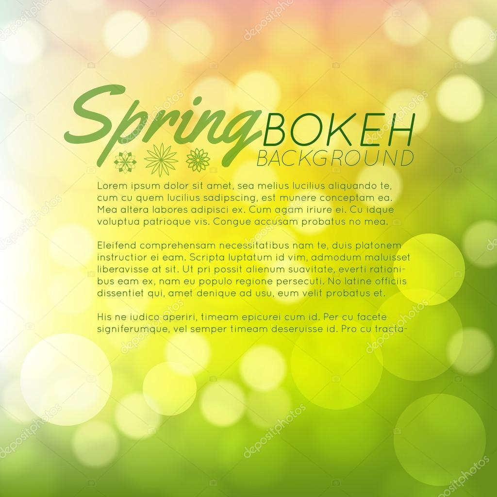 Bright Spring card