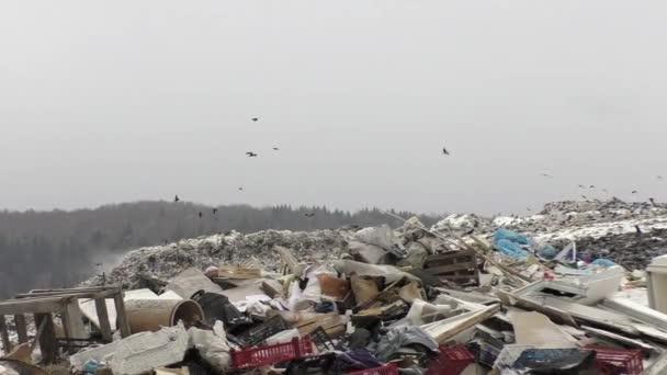 city garbage dump