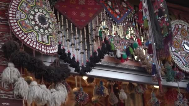Different national folk products with ornaments and elements