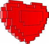 srdce z bloků