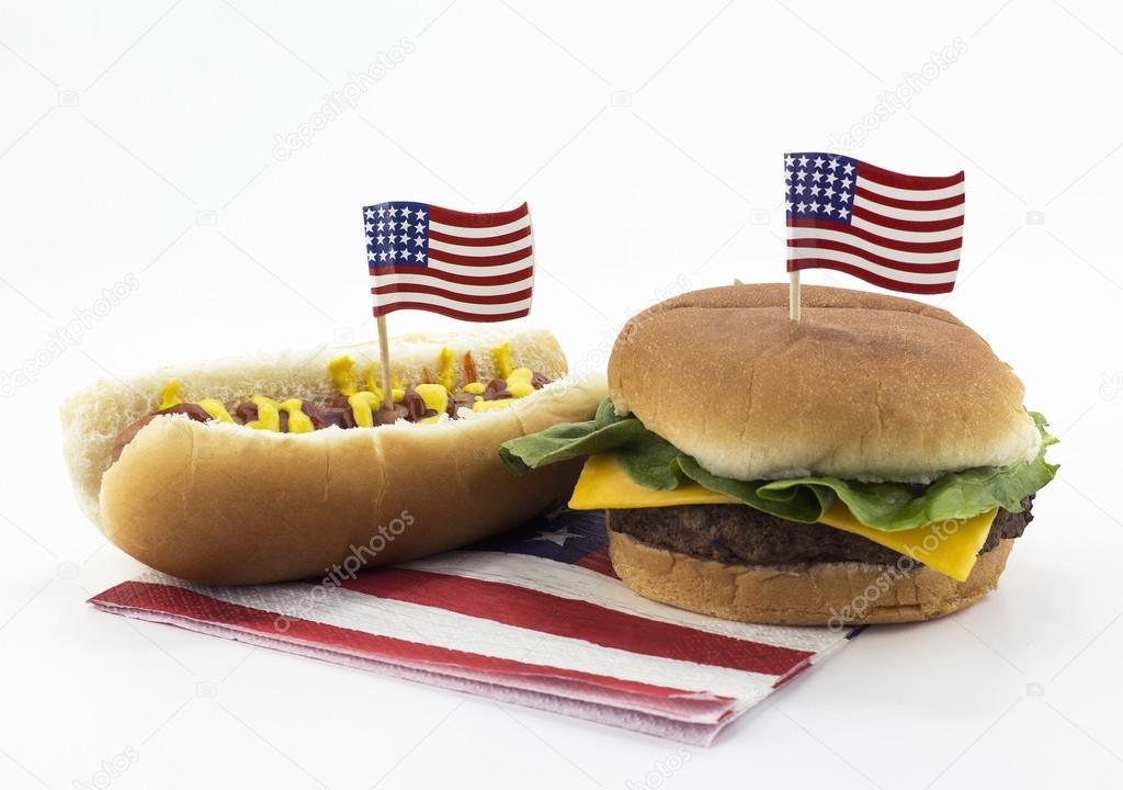 Hot Dog Ou Hamburger