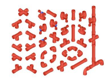 Isometric PVC Plumbing