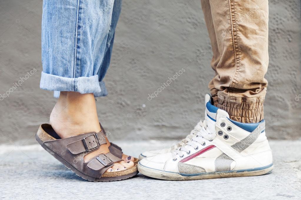 Rencontre pieds