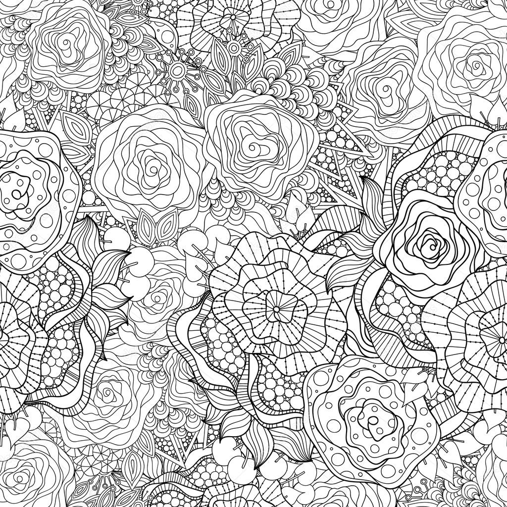 картинки цветков из антистресса вас