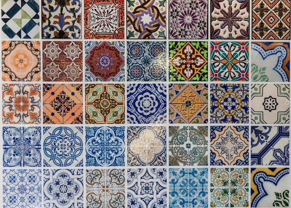 Padr Es De Cer Mica De Azulejos De Lisboa Portugal