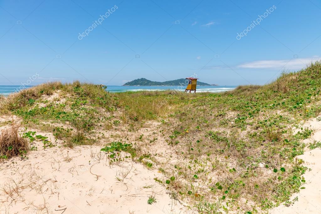 Campeche beach in Florianopolis, Santa Catarina, Brazil.