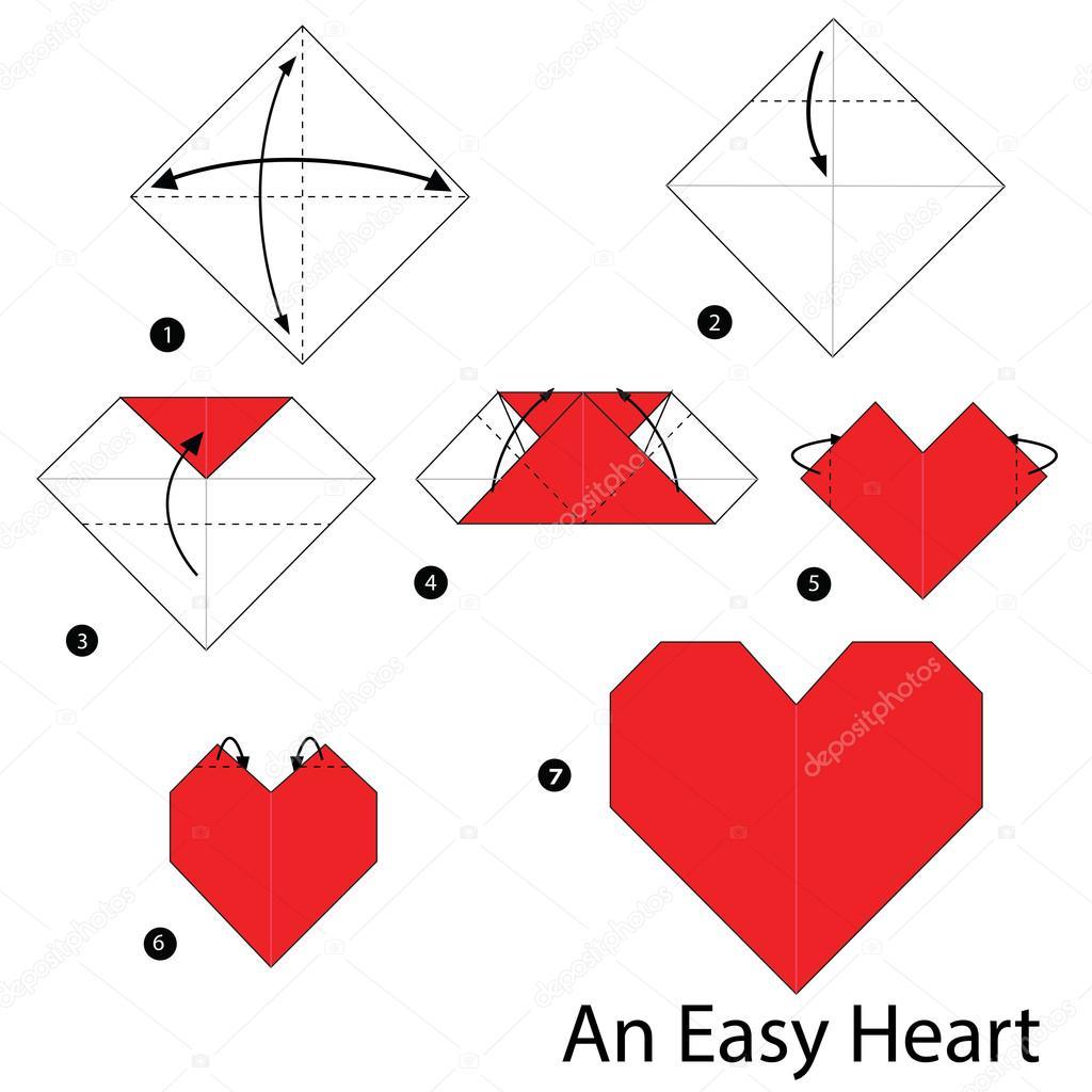 Make Love, Make Origami Hearts | Paper hearts origami, Origami ... | 1024x1024