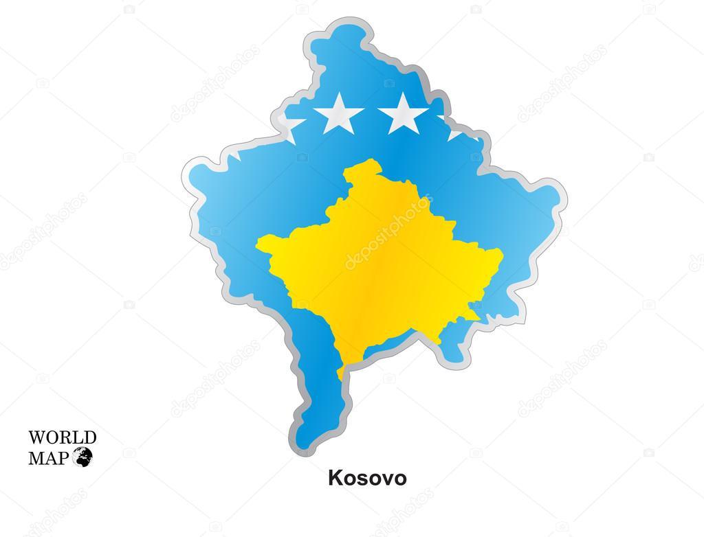 Mapa kosovop con bandera archivo imgenes vectoriales mapa kosovop con bandera archivo imgenes vectoriales gumiabroncs Images