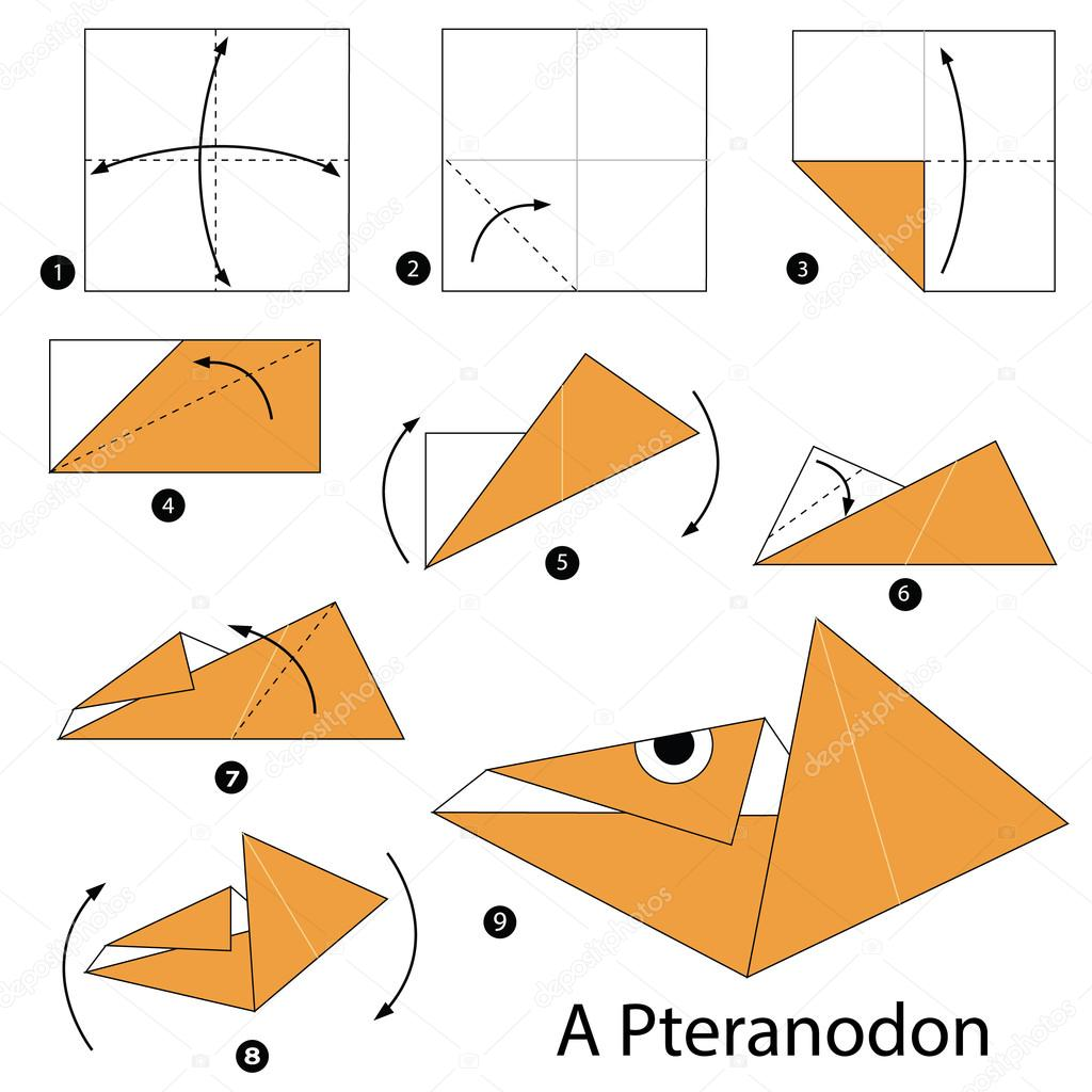 Instructions tape par tape comment faire origami - Origami para todos ...