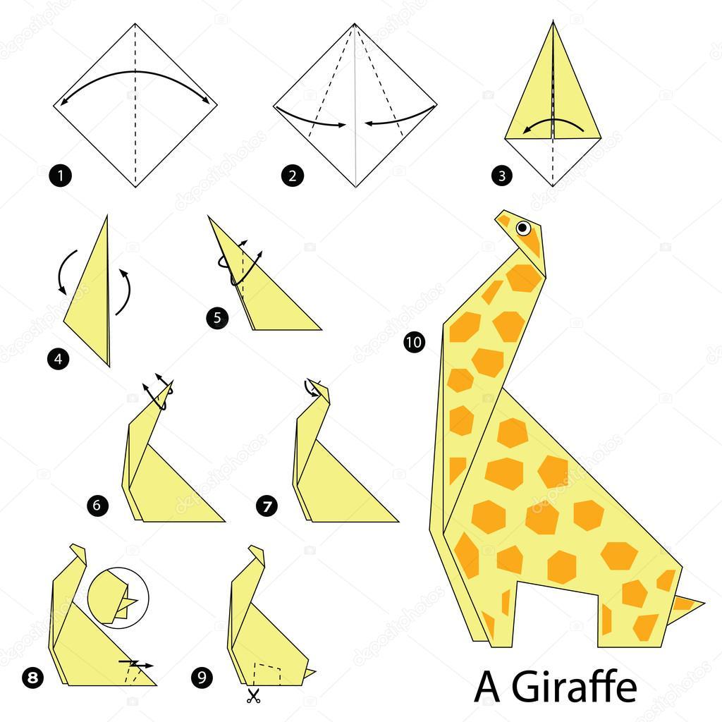 Stap voor stap instructies hoe te maken van origami A ... - photo#6