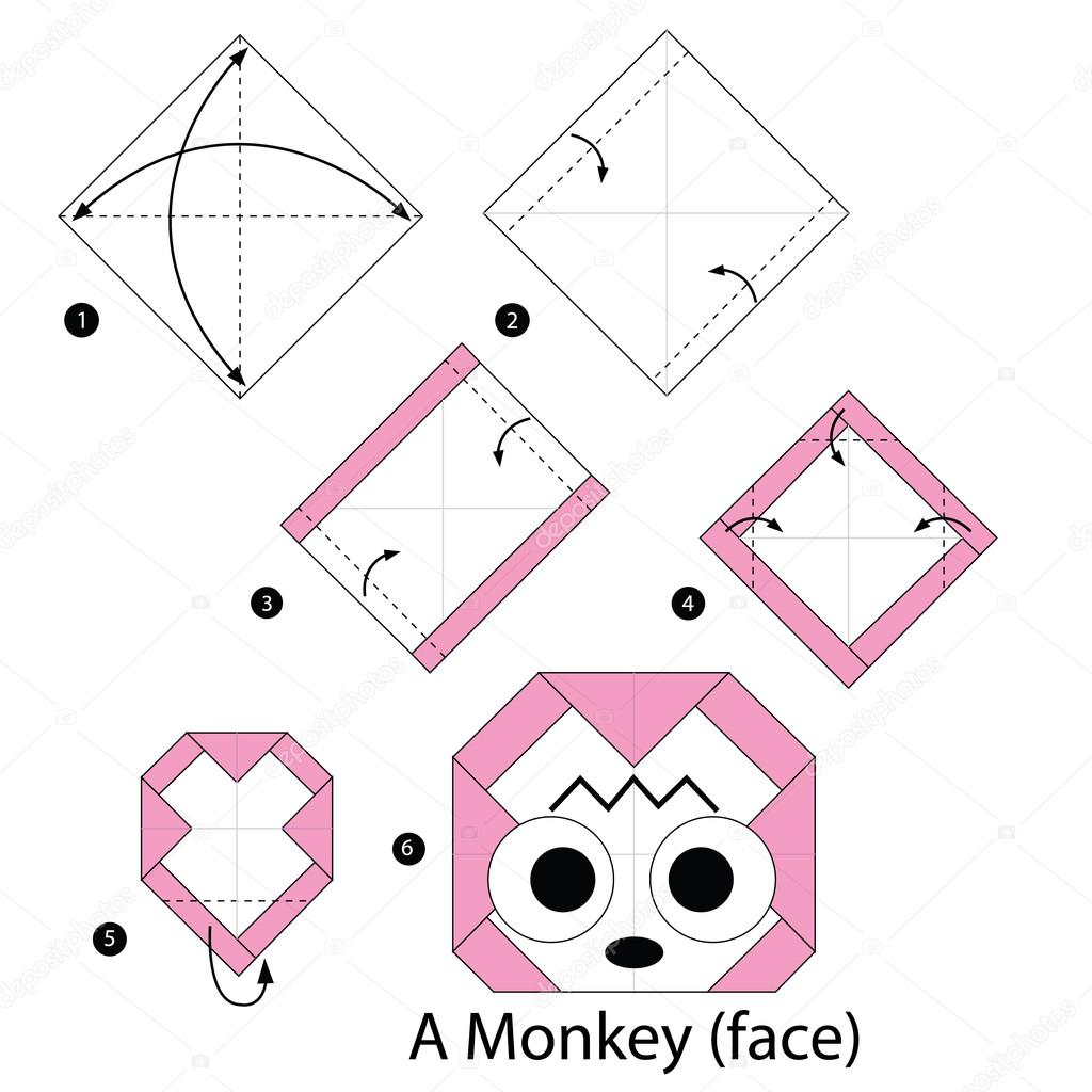 How to Make an Origami Pig   1024x1024