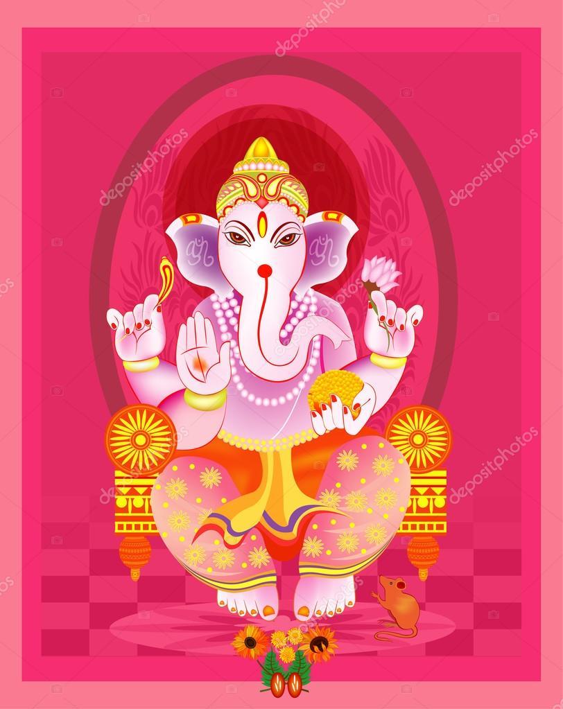 Indian hindu wedding invitation card stock vector sanjayart indian hindu wedding invitation card stock vector stopboris Choice Image