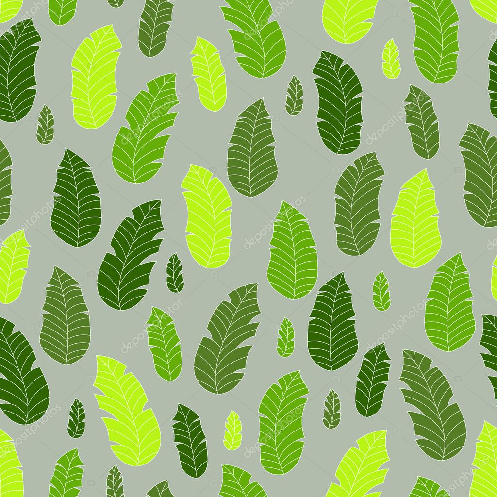 vector tropical leaves pattern stock vector axiroto gmail com