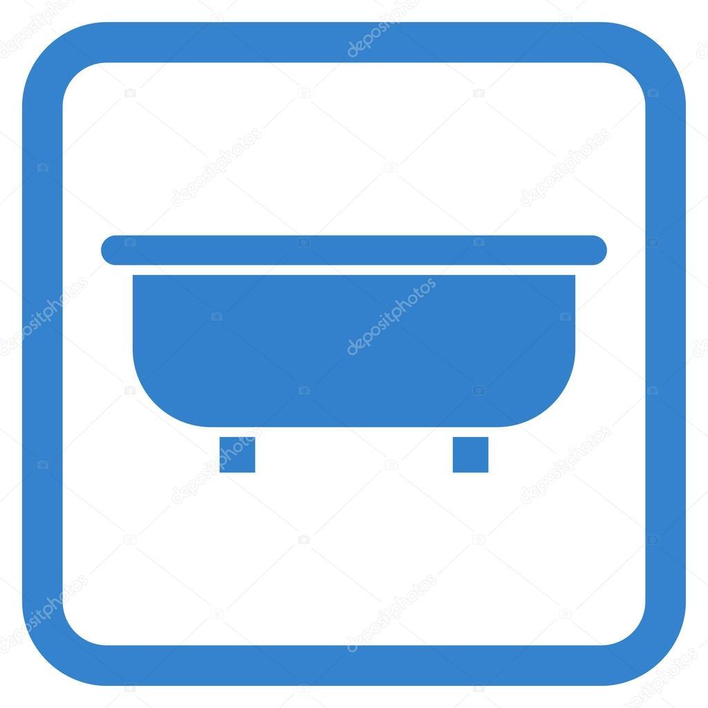 Bathtub Flat Vector Icon — Stock Vector © anastasyastocks.gmail.com ...