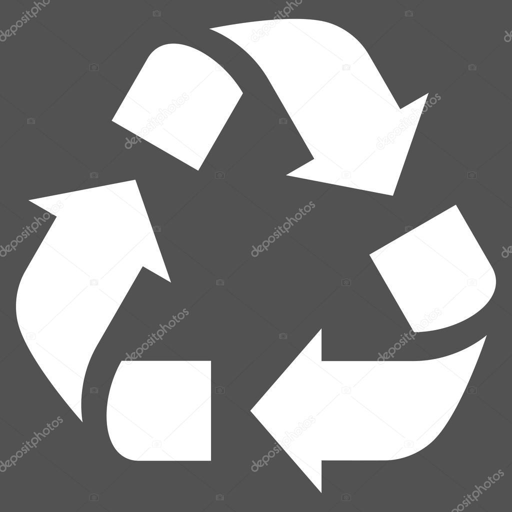 recycle flat vector pictogram stock vector anastasyastocks gmail rh depositphotos com recycle vector logo recyclage free vector