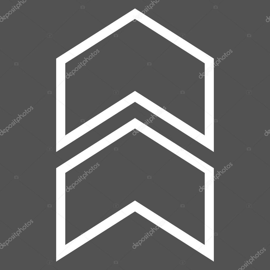 Strich Vektor Icon zu verlagern — Stockvektor © anastasyastocks ...