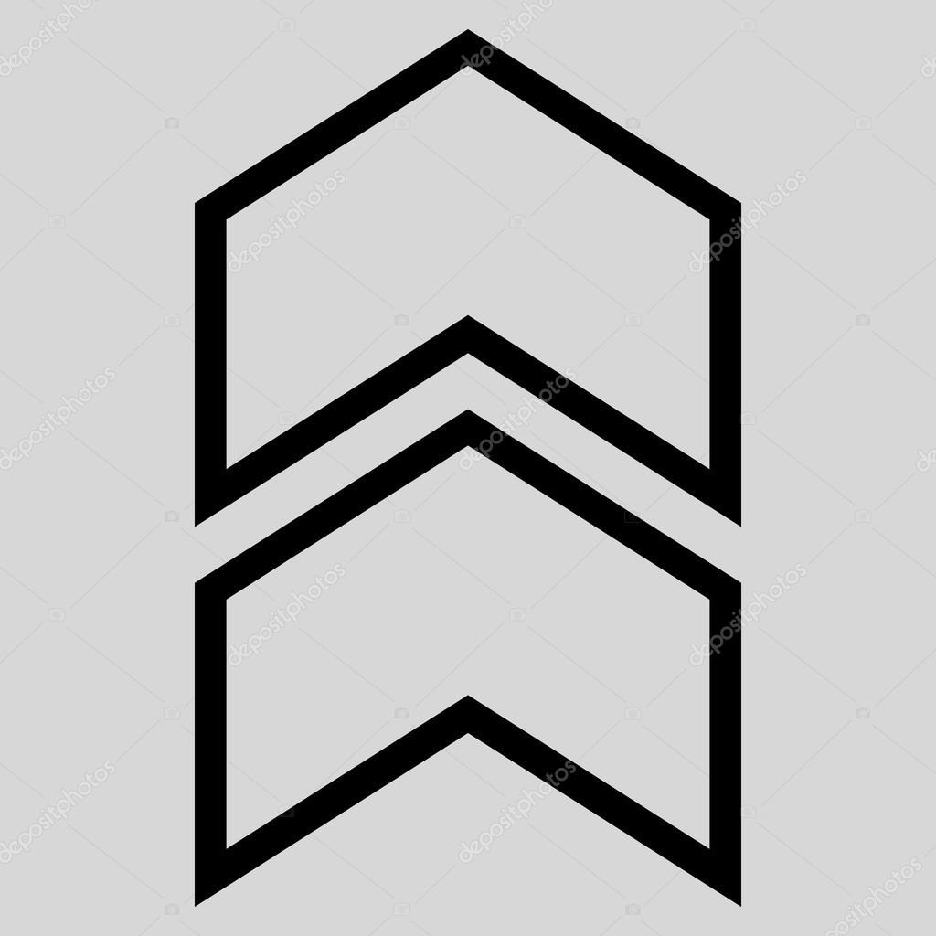 Kontur Vektor Icon zu verlagern — Stockvektor © anastasyastocks ...