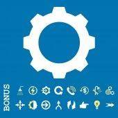 Vybavení bytu vektorové ikony s bonusem