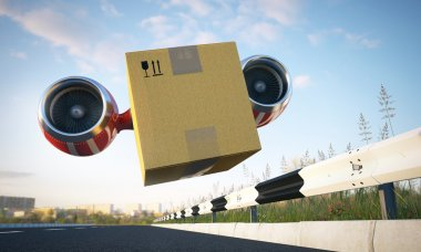 Immediate cargo delivery by creative vehicle