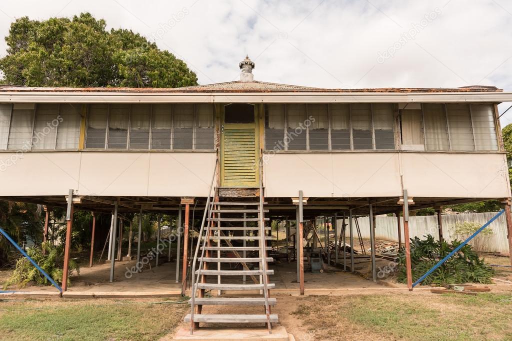 alte Haus Renovierung — Stockfoto © sstoll.aapt.net.au #124643752