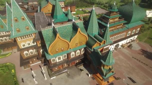 Ruské staré starověké Kreml KOLOMENSKÁ památková rezervace –. Unikátní pohled shora.