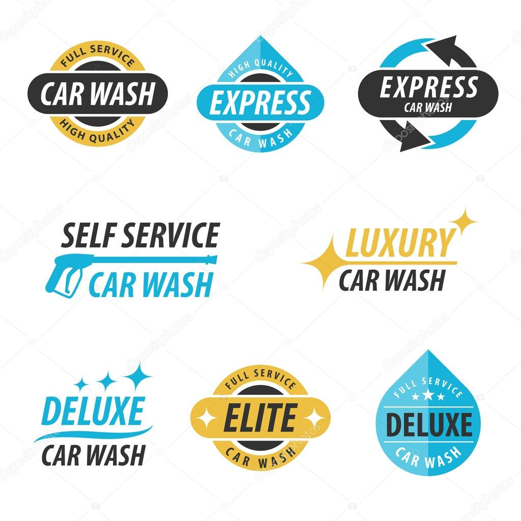 Car Wash Logo Stock Vector C Dmirgorod Gmail Com 99378706