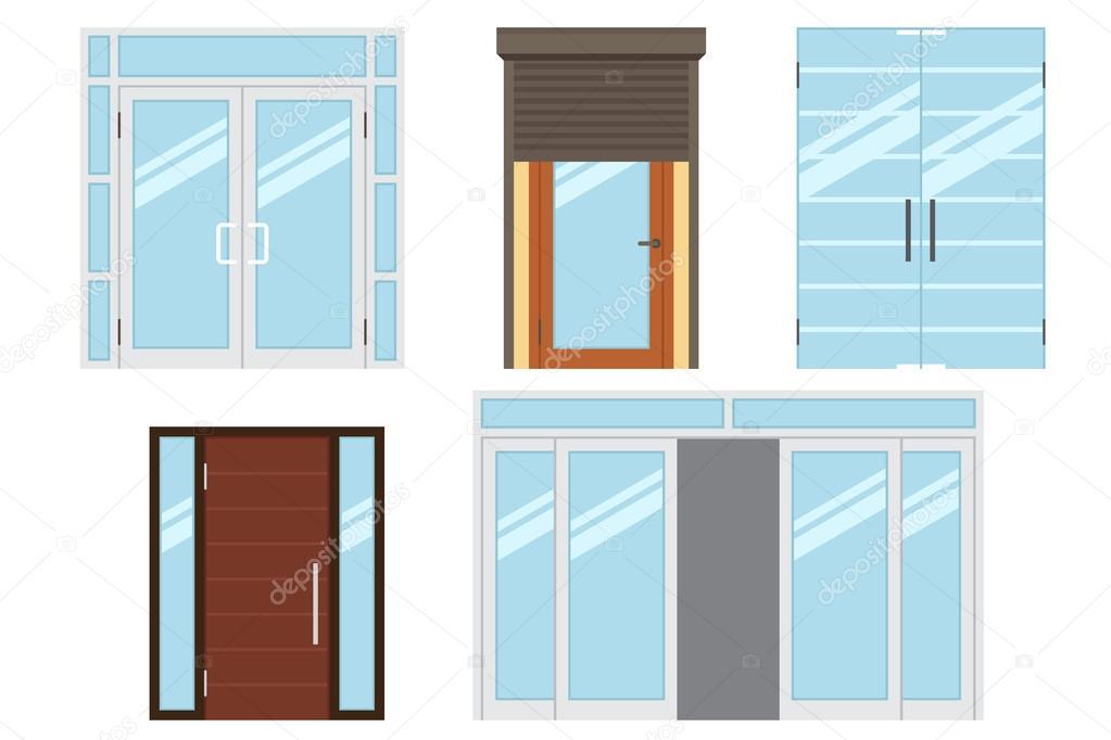 room doors vector art - photo #9