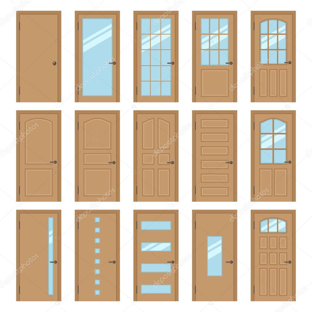 Types of interior doors 61