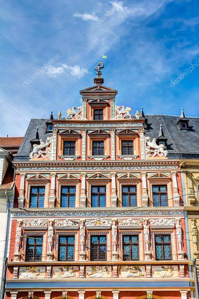 Houses in Renaissance architecture style — Stock Photo © mijeshots ...