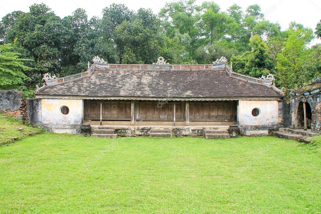 Elephant Sanctuary Temple in Hue Vietnam