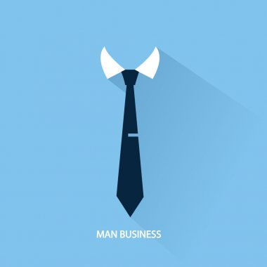 Businessman tie icon