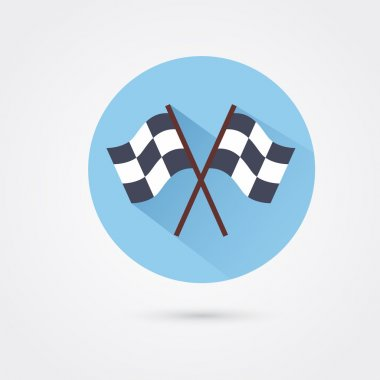 Finish flags icon