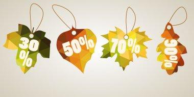 Leaves autumn discount concept
