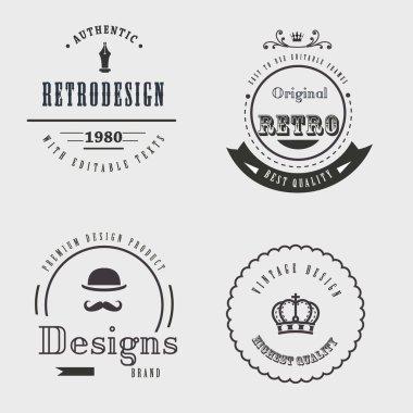 Ornamental emblems of quality