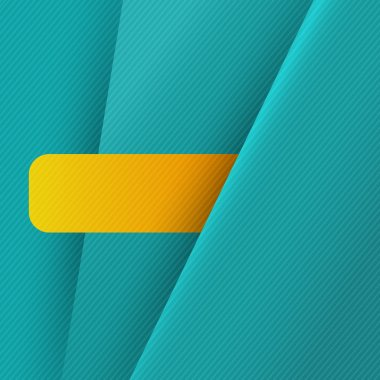 Blue background with yellow stripe