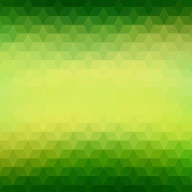 Polygonal geometric pattern