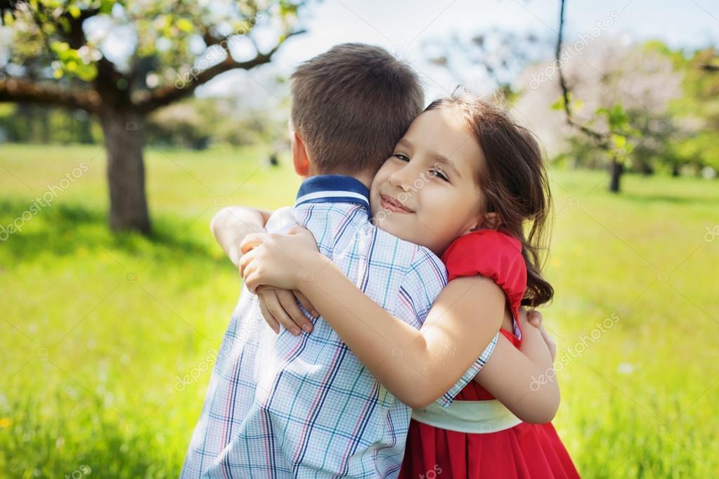 Children Love Romantic Hug Stock Photo © Luxury60gmail Gorgeous Child Love Images Download
