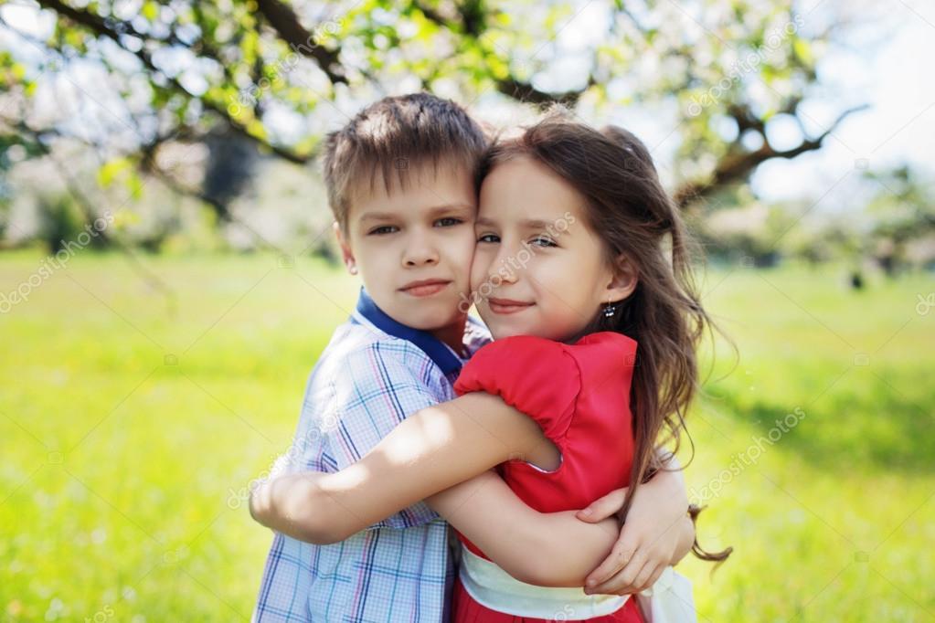 Happy Children Hugging Stock Photo © Luxury60gmail 60 Interesting Child Love Images Download