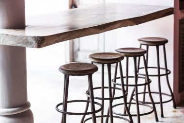 Round tall chairs