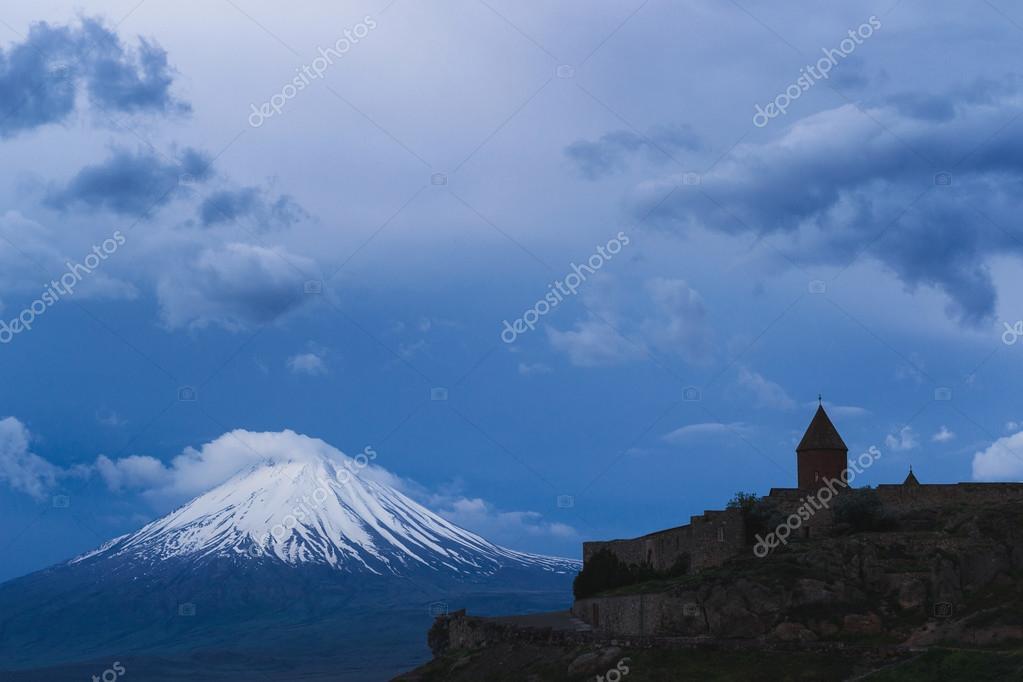 Mount Ararat at sunrise