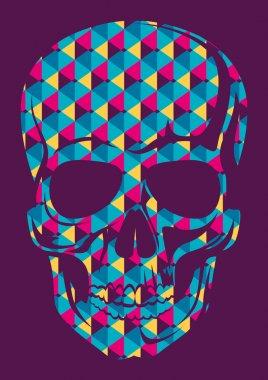 Conceptual human skull.